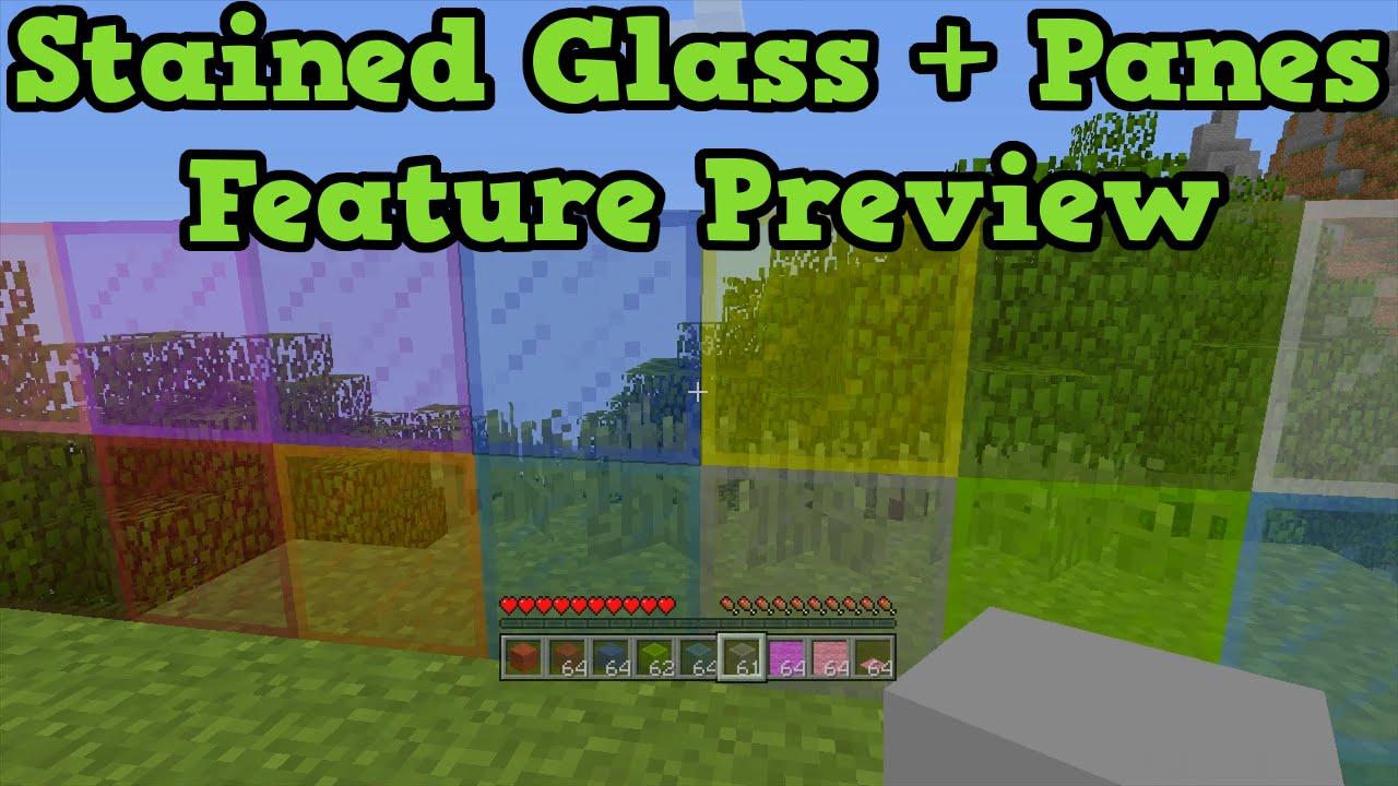 glass pane minecraft. Minecraft Xbox One + PS4 TU25 - Stained Glass \ Pane 4