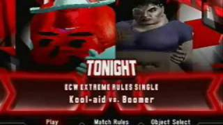 kool aid vs boomer no 1 contender match dcw