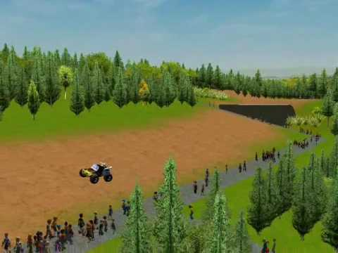"""RCT3 - the  """"James Hunt""""  Cheat Code (an alternative way for recording the dune buggy)"""