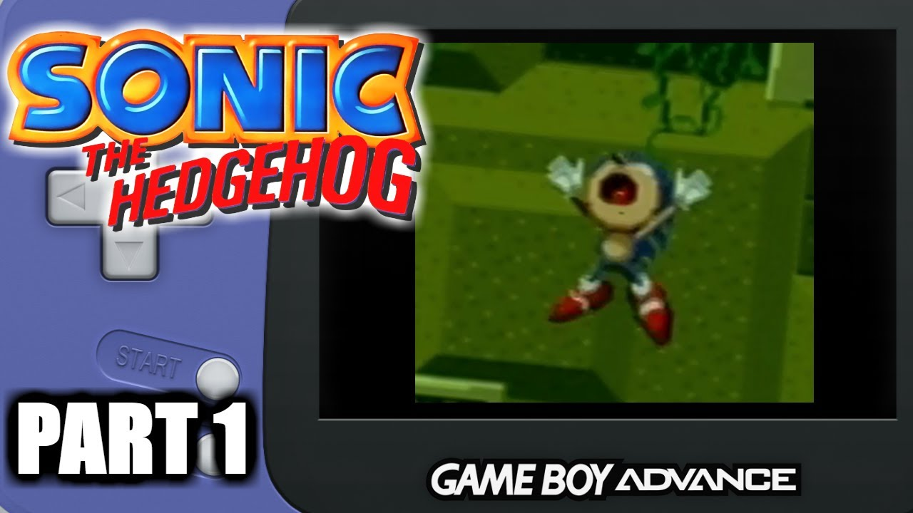 Sonic The Hedgehog Genesis For Gameboy Advance Youtube