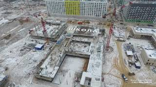 """видео: ЖК """"Бунинские луга"""" 29.11.2017"""