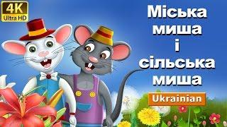 Міська миша і сільська миша   казки   казки на ніч   казки для дітей   казки українською мовою