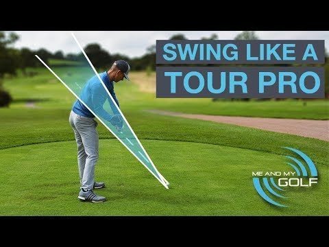 HOW TO SWING LIKE A TOUR PRO GOLFER