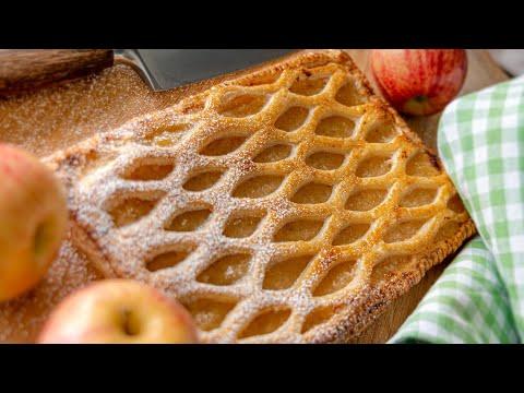 ЯБЛОЧНЫЕ СЛОЙКИ 🍏 ПИРОГ 🍎 вкусный простой десерт с яблоками | французская выпечка Grillé Aux Pomme