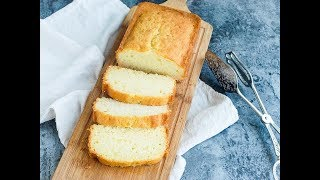基礎牛油磅蛋糕食譜 簡單做法|Basic Pound Cake Recipe