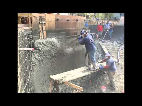 Basalt rebar in swimming pool and foundation youtube for Swimming pool rebar requirements