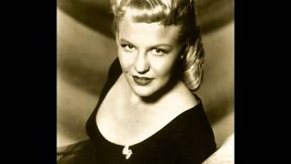 Peggy Lee - Love Me Or Leave Me