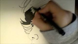 ONE OK ROCK- Taka (森田貴寬) Speed Drawing.wmv