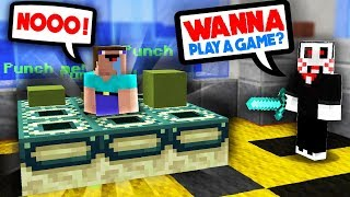 DO YOU WANT TO PLAY A GAME...? (Minecraft Murder Mystery)