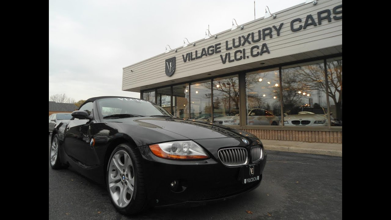 2003 Bmw Z4 In Review Village Luxury Cars Toronto Youtube