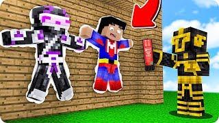 Massi Trollea A Sus Amigos Y Los Cuelga De La Pared En Minecraft 😱