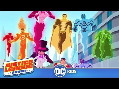 Justice League Action em Português  Confusão da Liga da Justiça  DC Kids