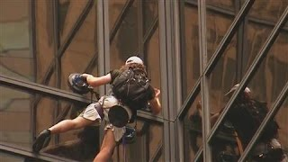 NYC Police Pull Climber Off Trump Tower