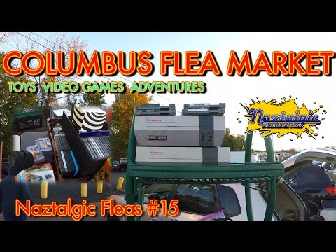 Flea market adventures Video games and more toys