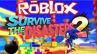 Roblox Survive The Disasters 2! 1080p 60fps - Yay explaining time! FML