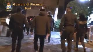 Traffici di armi e droga a Bari