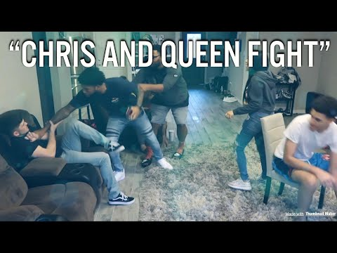QUEEN IS CAUGHT CHEATING ON CHRIS! CHRIS TRIES TO HANG HIMSELF (Chris and Queen)