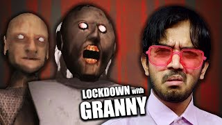 LOCKDOWN with GRANNY - Helicopter Escape !!! (Granny Chapter 2 - Saiman Plays)