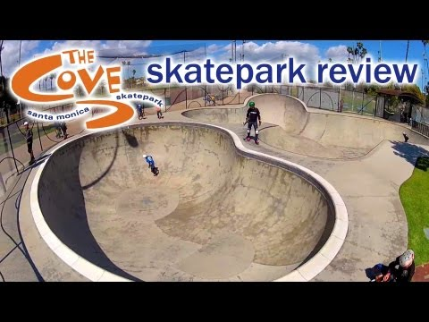 Skatepark Review: The Cove Skatepark - Santa Monica, California