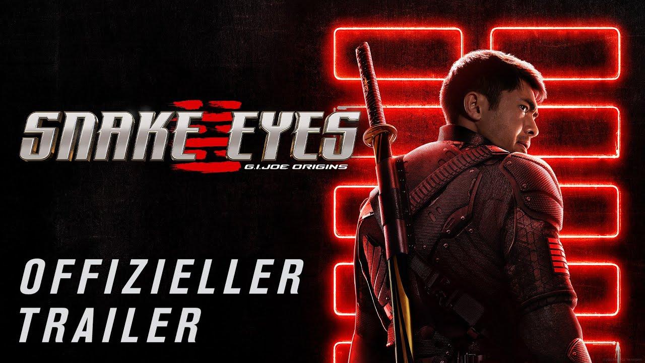 SNAKE EYES: G.I: JOE ORIGINS | OFFIZIELLER TRAILER 2 | PPG | Trailer FSK: 12