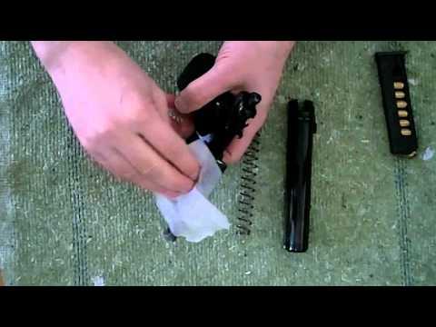 Makarov 9mm Pistol Field Strip & Cleaning