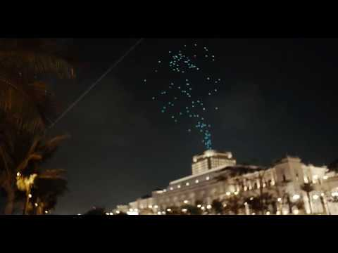 300 drones used in Jeddah spectacle welcoming Ramadan