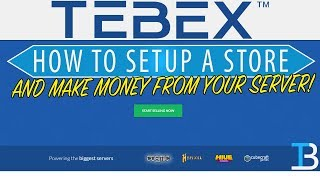 How To Setup A Tebex Store (Add BuyCraft to Your Minecraft Server)