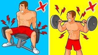 5 Übungen, die Männer vermeiden sollten