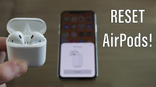 How To Reset AirPods - Fix ANY and ALL Problems!!