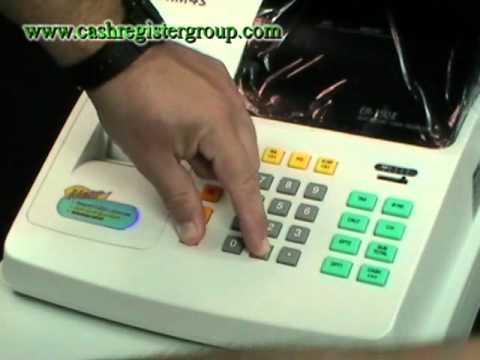 Sam4s ER-150 mkII Cash register Till Installation and operation video