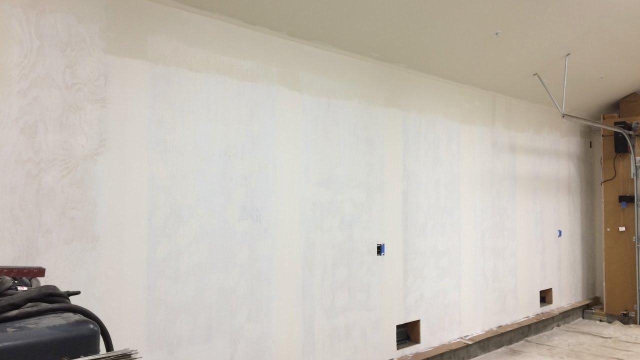 Osb Garage Walls Painted