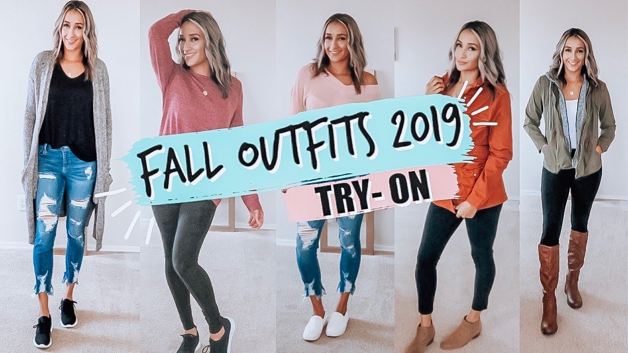 [VIDEO] - TRY ON FALL OUTFITS IDEAS 2019 | MOM STYLE | AFFORDABLE FASHION 2