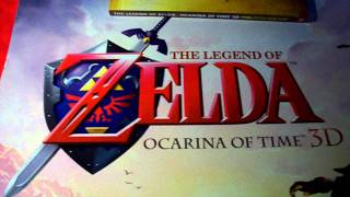PowerUp Rewards: Zelda Ocarina of Time 3D Poster