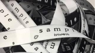 Tekstil Etiket Kurdele Baskı Kesim ve Katlama