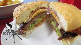 Kangaroo Burger - Video Recipe