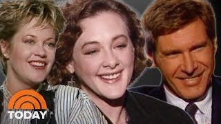 'Working Girl' Stars Melanie Griffith And Harrison Ford Talk Movie In 1988 | TODAY Show