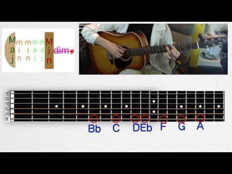 Learn Chords in Relative Major and Minor Keys on Guitar  - Music Theory From the Ground Up Lesson 9