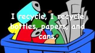 I Recycle   A Song for Kids