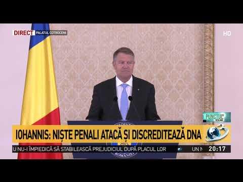 """Klaus Iohannis, reacție în scandalul momentului: """"DNA face o treabă bună"""""""