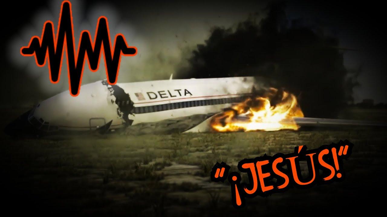 5 Grabaciones antes de accidentes aéreos mas perturbadoras