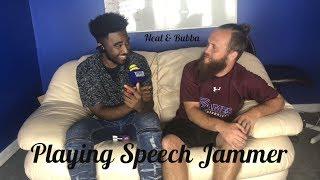 Playing Speech Jammer