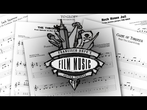Film Music Guitar Tribute [Tabs And Backing Tracks]