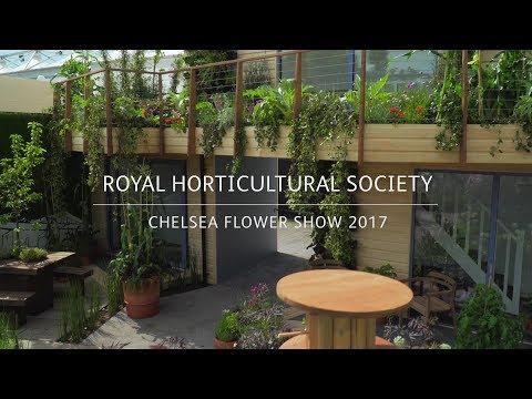 RHS Chelsea Flower Show 2017 | Greening Grey Britain Garden Designed by Nigel Dunnett