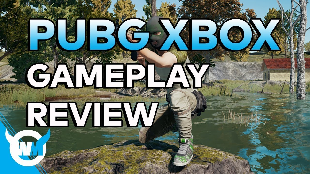 pubg xbox one x gameplay