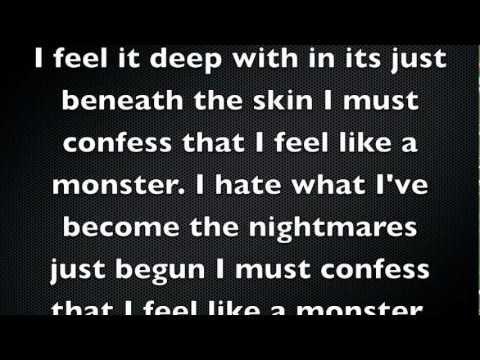 Monster Skillet lyrics without growl