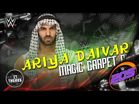 Ariya Daivari 2nd & NEW WWE Theme Song 2016 -