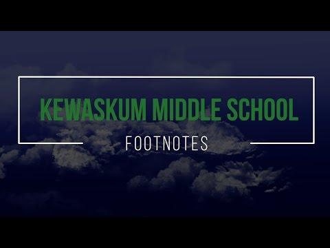 Kewaskum Middle School Footnotes 2017