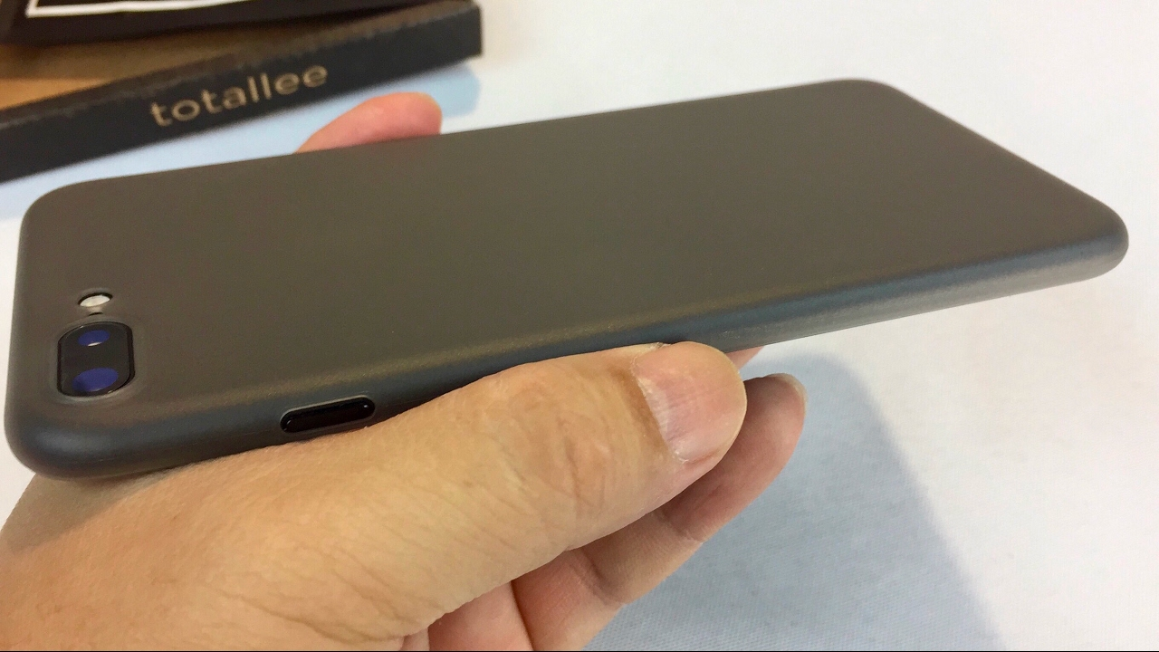 66c5109c2fb totallee The Scarf (Grey) Ultra Thin Protective Case Cover for Apple iPhone  7 Plus review