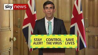 Coronavirus: Chancellor reveals when furlough scheme will end