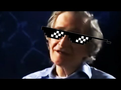 Chomsky Calmly Tells Reporter Why He Sucks